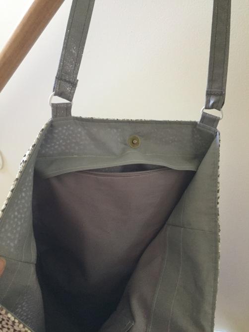 leather hidden zip