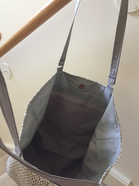 leather internal pocket